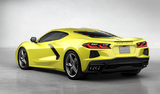2020 Chevrolet Corvette Accelerate Yellow Metallic