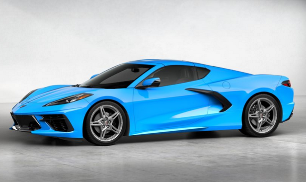 2020 Chevrolet Corvette Rapid Blue