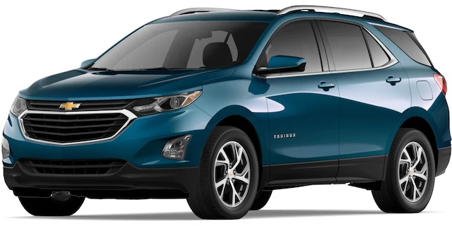 2020 Chevrolet Equinox Pacific Blue Metallic