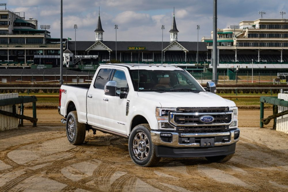 Ford is new partner of Churchill Downs and Kentucky Derby
