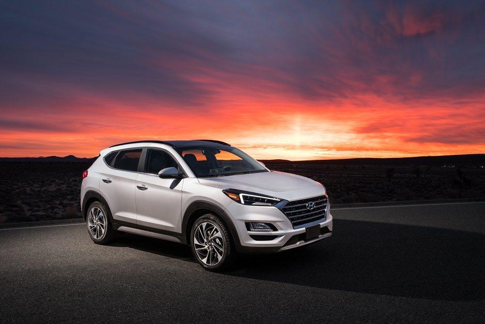 Hyundai Tucson Canada February sales