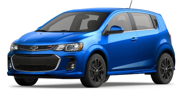 2020 Chevrolet Sonic Kinetic Blue Metallic