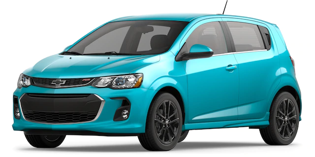 2020 Chevrolet Sonic Oasis Blue