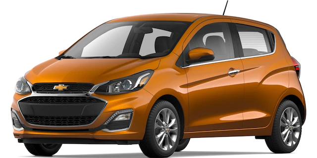 2020 Chevrolet Spark Orange Burst
