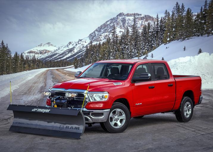 2021 Ram 1500 Snow Plow Prep Package