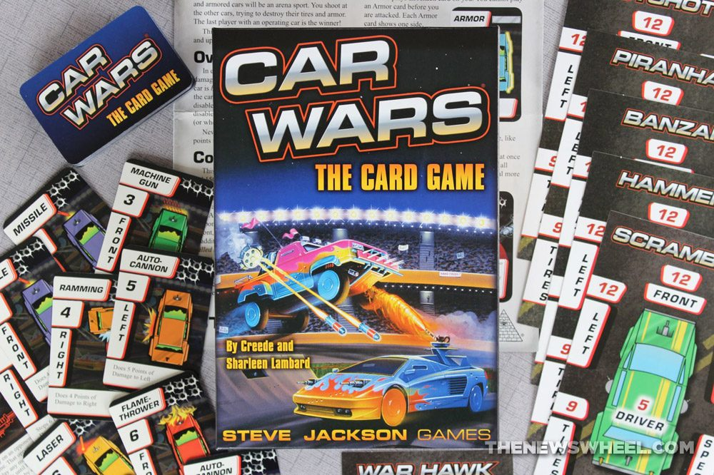 Car Wars Card Game Review Steve Jackson Vehicle Battle buy purchase