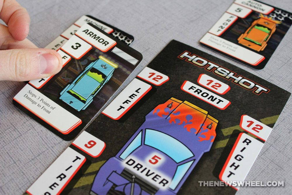 Car Wars Card Game Review Steve Jackson Vehicle Battle play rules