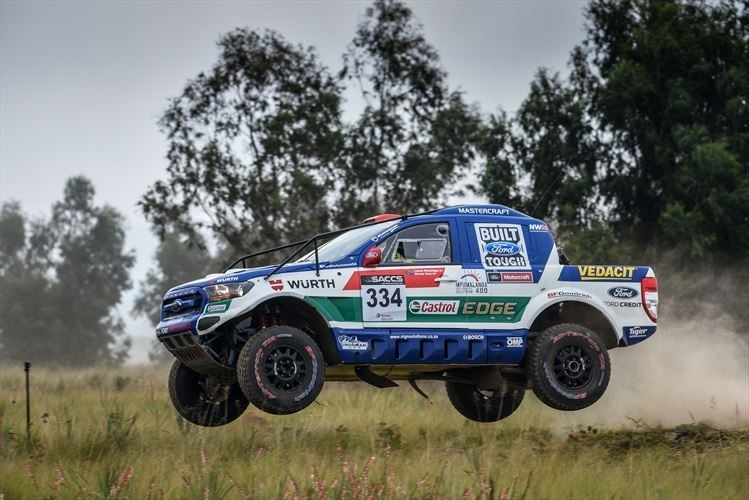 Ford Castrol Cross Country Team Secures Podium Finish on FIA-class Debut