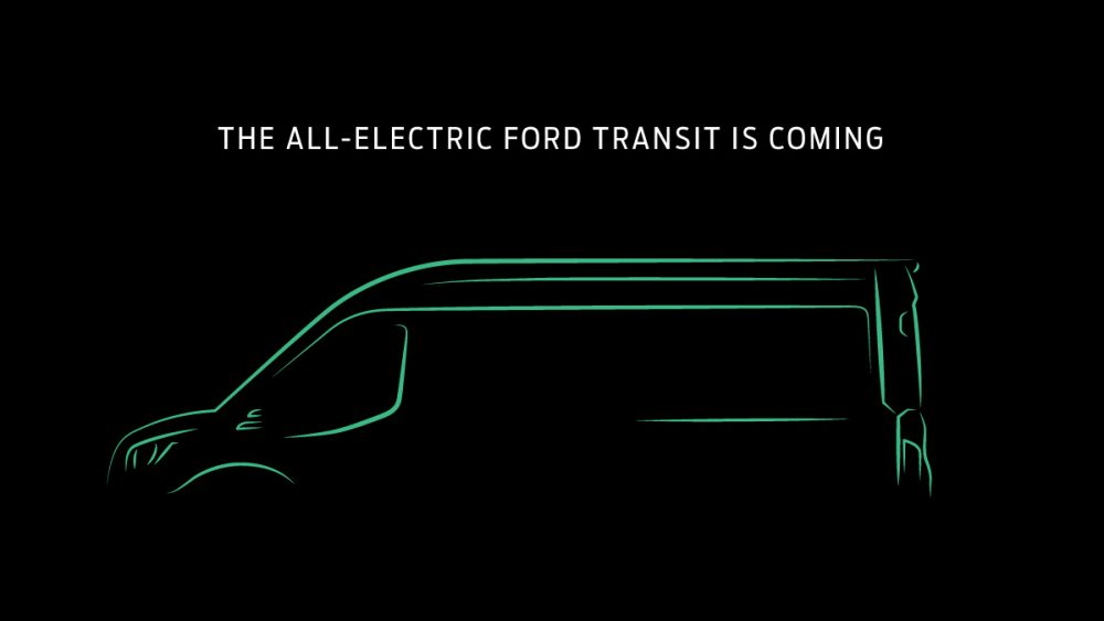 All-Electric Ford Transit is Coming