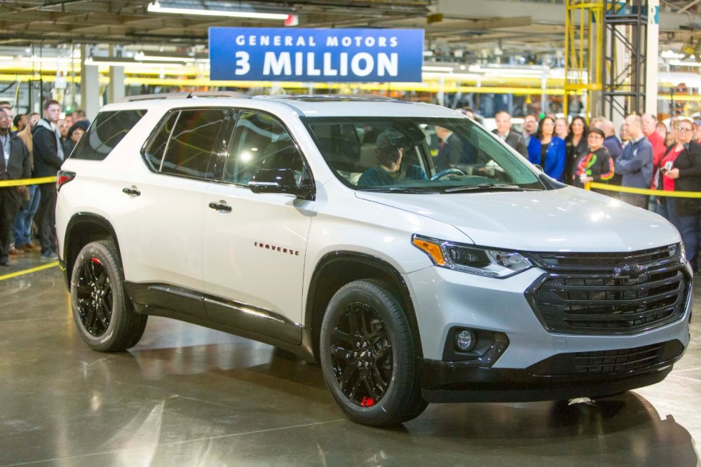 3 Millionth Vehicle - GM Lansing Delta Township Aseembly