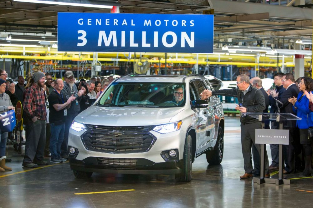 3 Millionth Vehicle - GM Lansing Delta Township Assembly