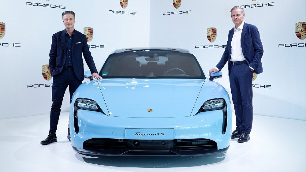 Porsche revenue 2019 was up in part thanks to the Taycan 4S
