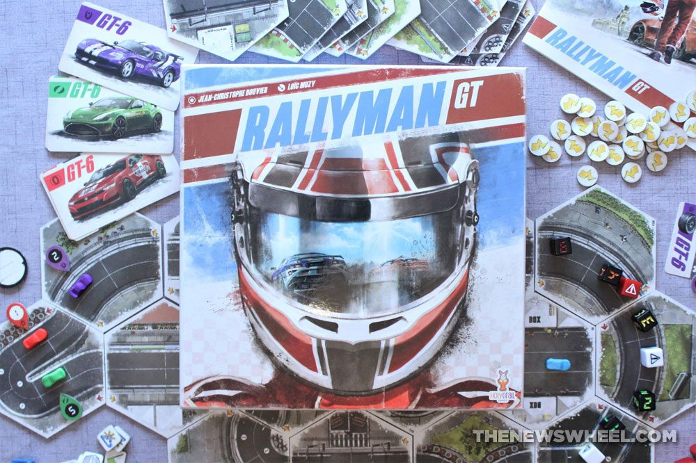 Rallyman GT review 2020 Holy Grail Games racing board game buy purchase