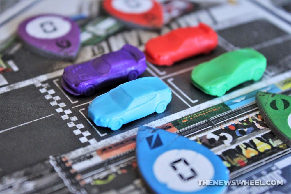 Rallyman GT review 2020 Holy Grail Games racing board game cars tokens