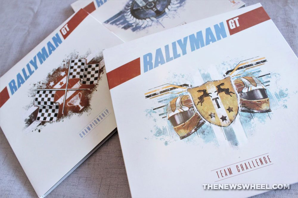 Rallyman GT review 2020 Holy Grail Games racing board game expansions