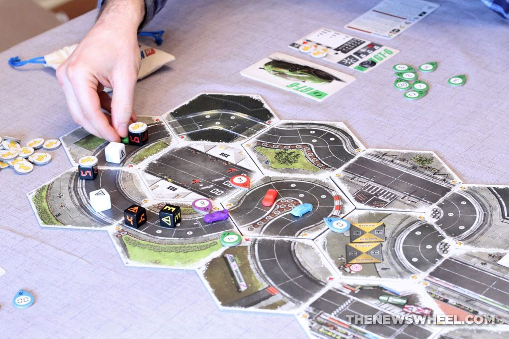 Rallyman GT review 2020 Holy Grail Games racing board game motorsports tiles