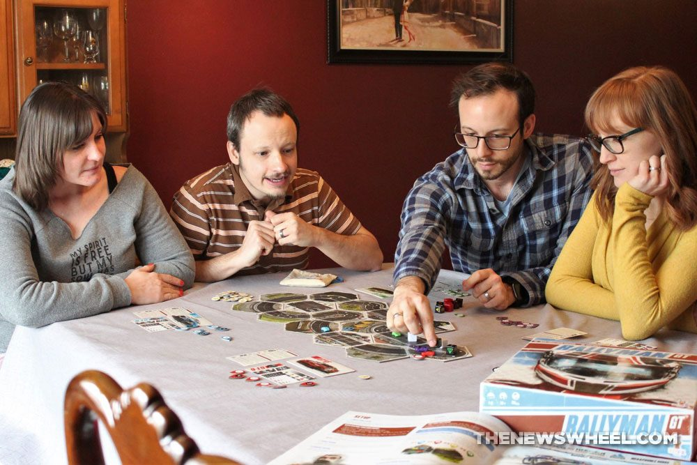 Rallyman GT review 2020 Holy Grail Games racing board game players family