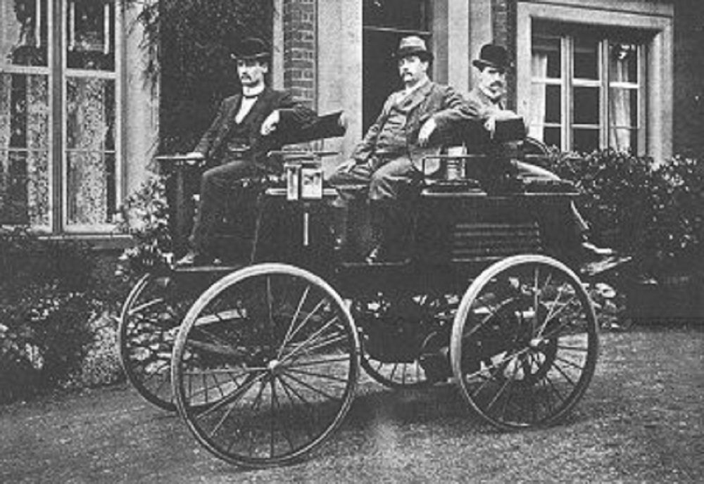 Thomas Parker's Electric Vehicle