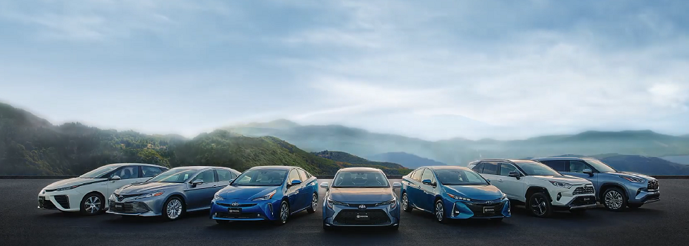 2020 Toyota Hybrid lineup, responsible for Toyota hybrids sales exceeding 15 million
