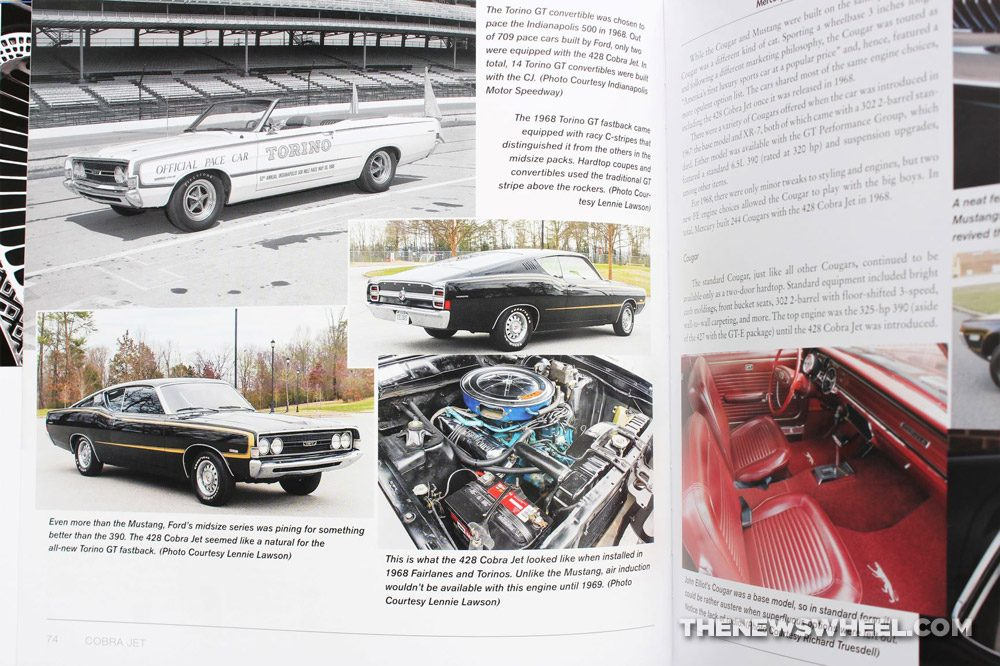 Cobra Jet book review Rob Kinnan Diego Rosenberg Ford muscle car history CarTech pictures