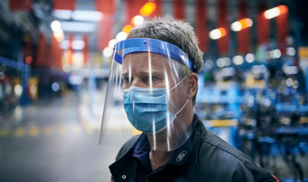 Ford Manufacturing in Europe restarting