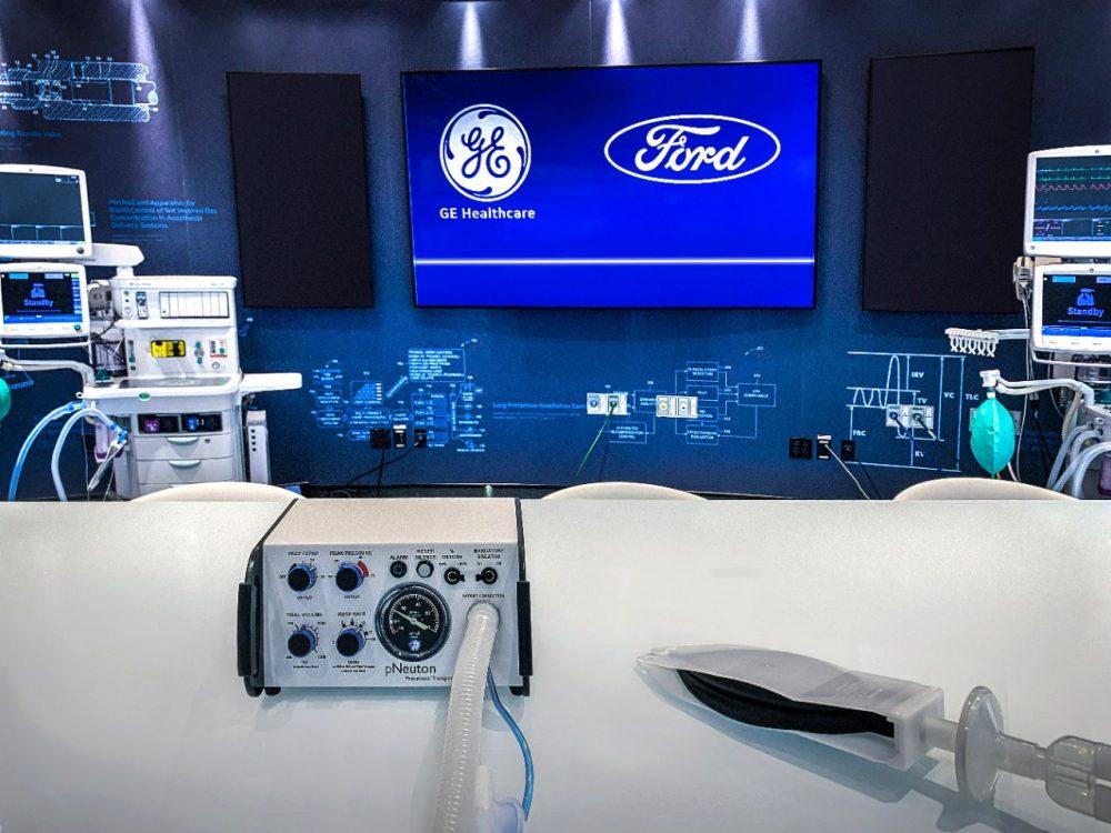 Ford Model A-E ventilator