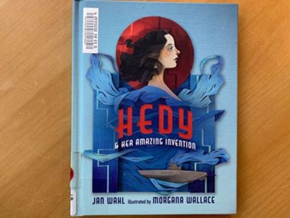 Book Review: Hedy and Her Amazing Invention