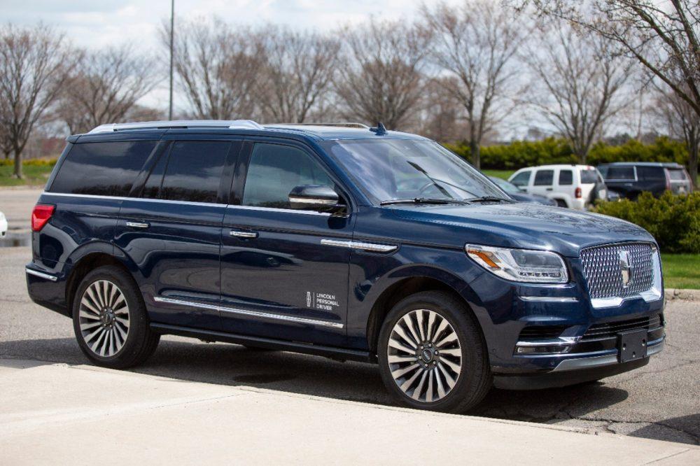 Lincoln Personal Driver Lincoln Navigator mobile testing