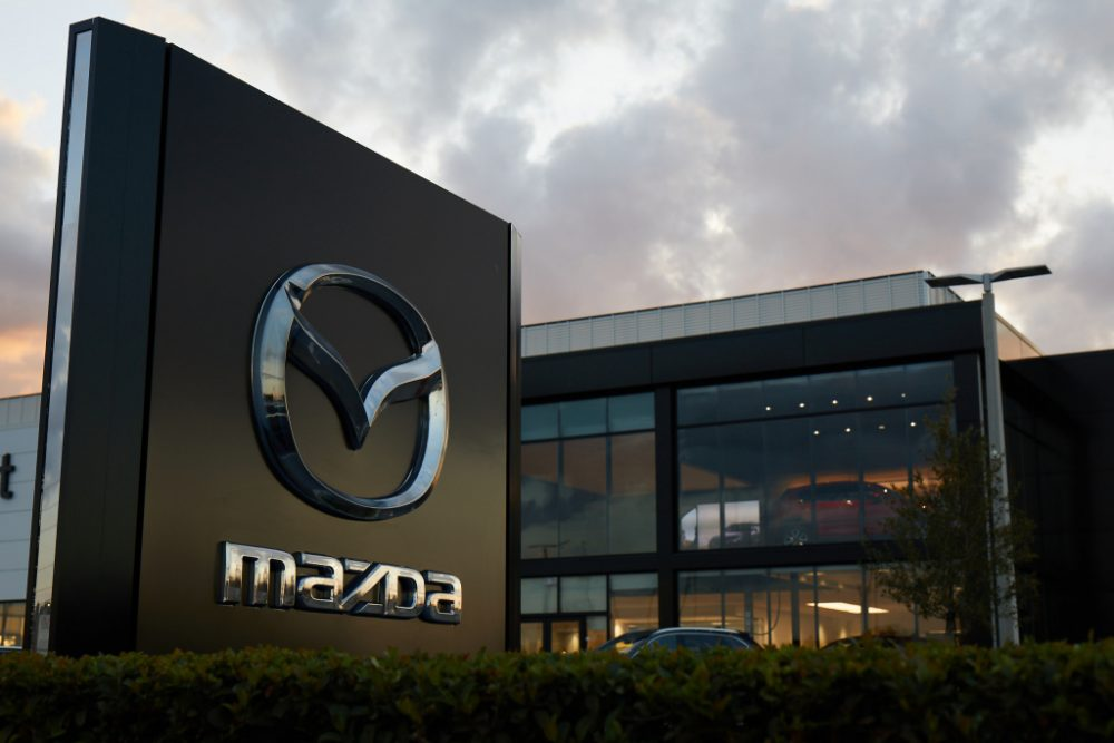Mazda Dealership SignMazda Dealership Sign