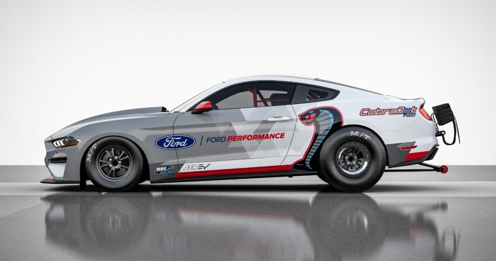 all-electric Mustang Cobra Jet 1400 Concept