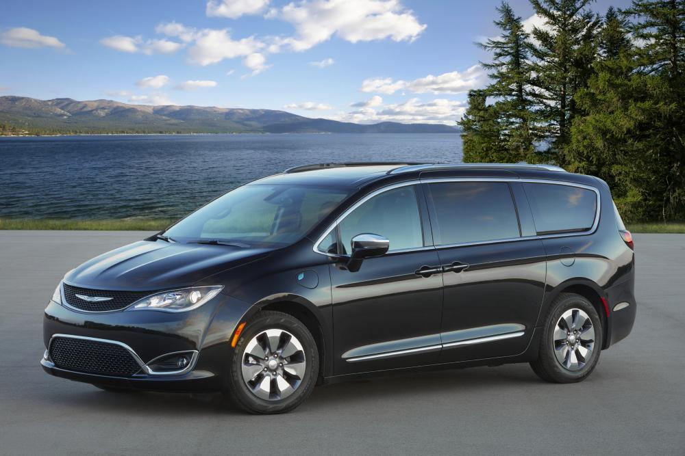 The 2020 Chrysler Pacifica Hybrid. 2020 Best Family Cars