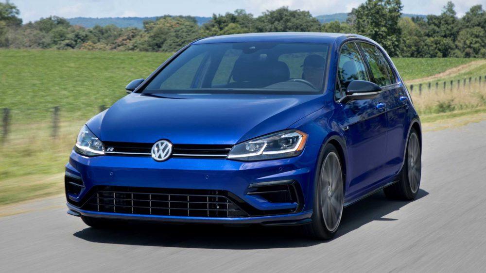 undisguised Volkswagen R vehicles