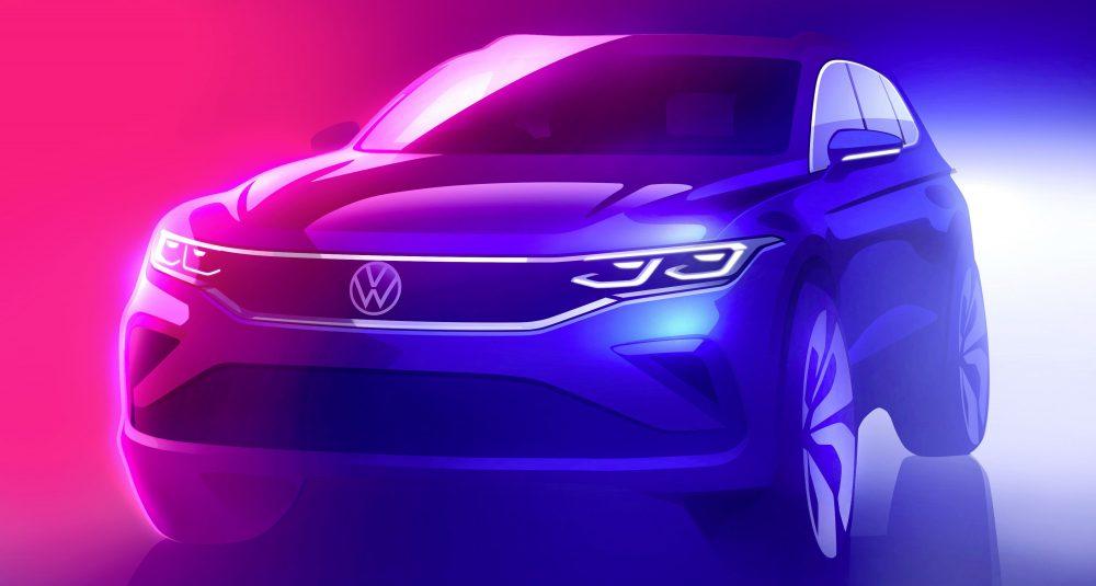 Volkswagen's refreshed Tiguan