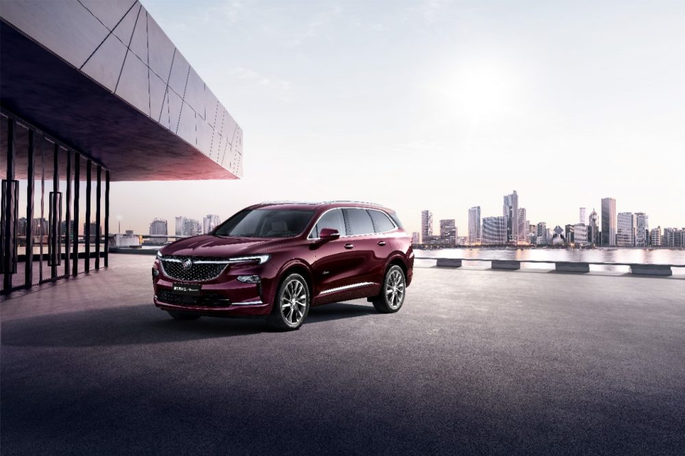 2020 Chinese Buick Enclave Avenir. Enclave refresh for 2022 model year