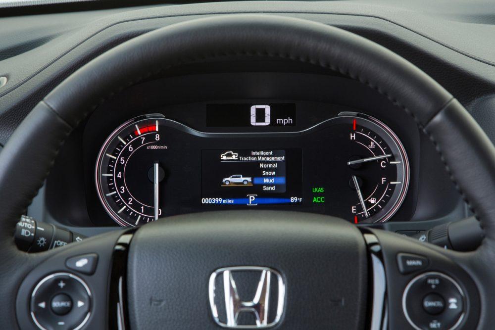 2020 Honda Ridgeline Technology (2)