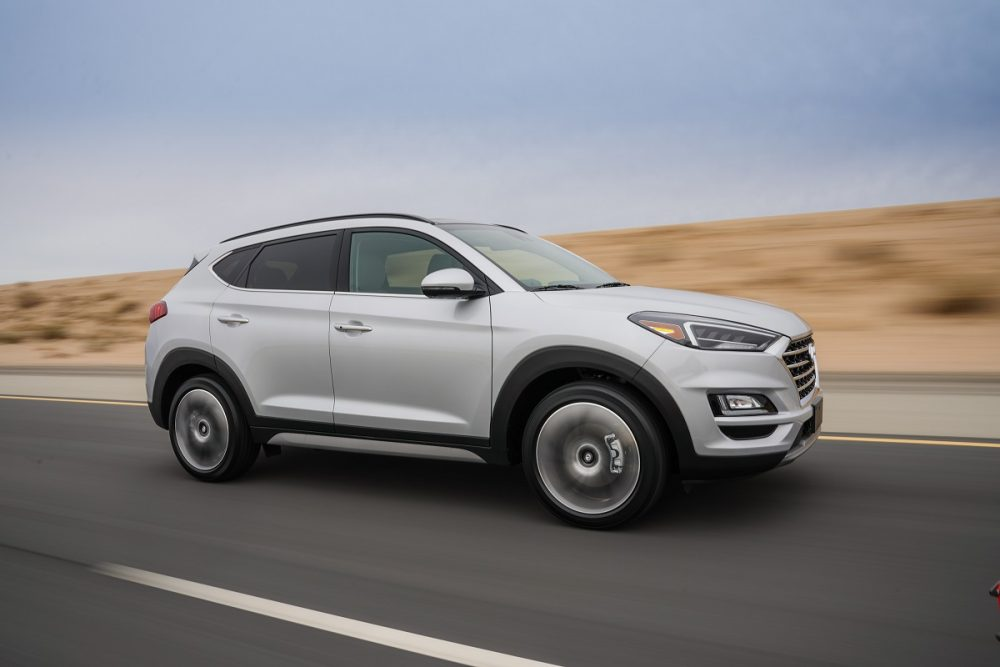 2020 Hyundai Tucson April sales