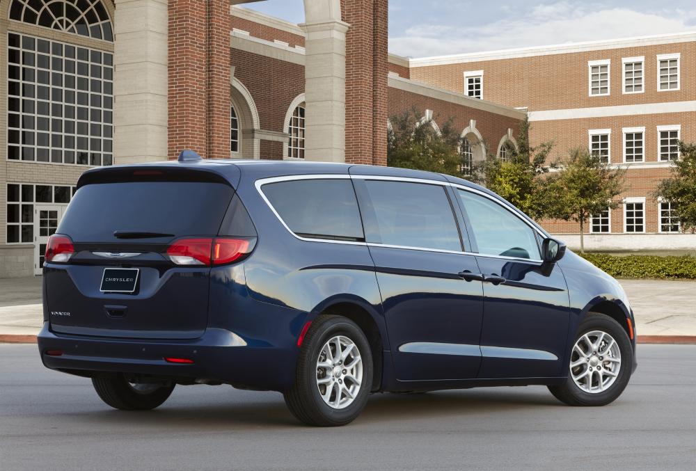 The new 2020 Dodge Grand Caravan rear. Order books closed for Grand Caravan