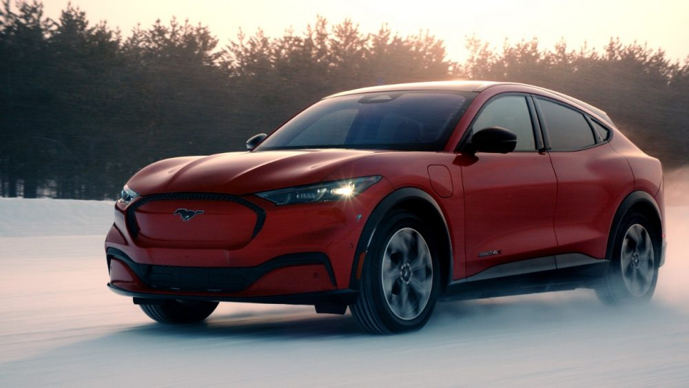 2021 Ford Mustang Mach-E AWD Winter | Ford Bronco and Mustang Sub-Brands 'A No-Brainer'