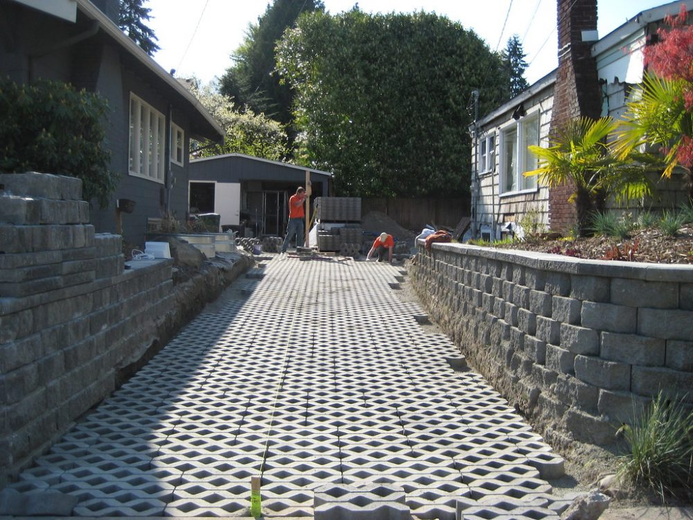 Sustainable driveway