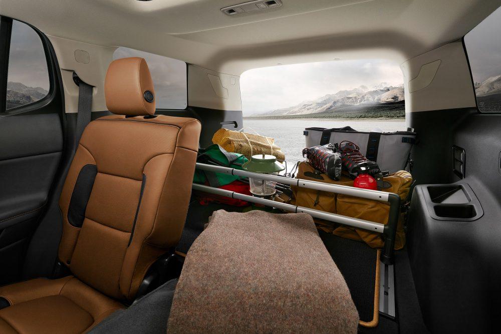 2020 GMC Acadia AT4 interior