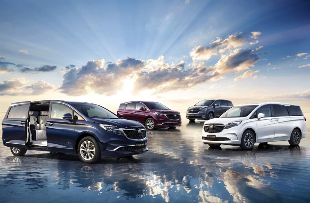Buick GL8 GM China third quarter sales