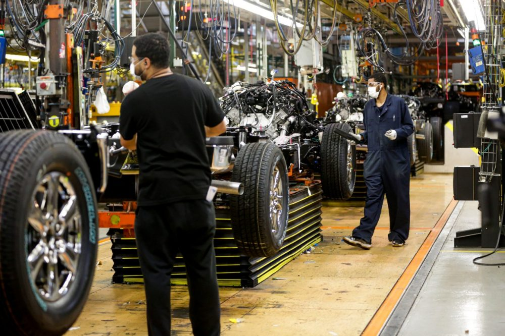 Ford U.S. Manufacturing Back Underway May 18