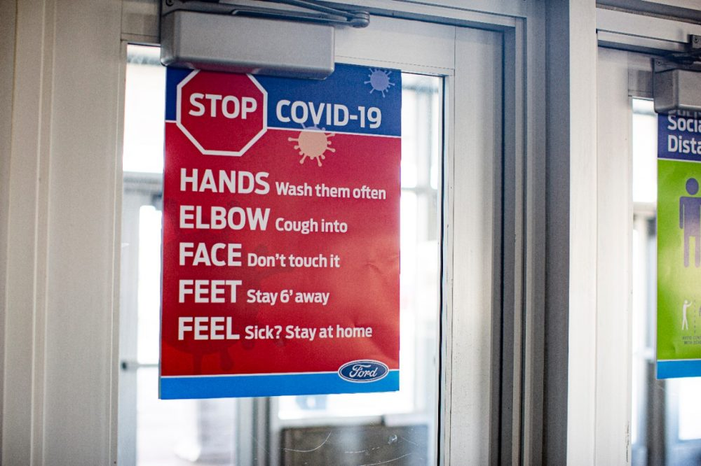 Ford manufacturing safety protocols COVID-19