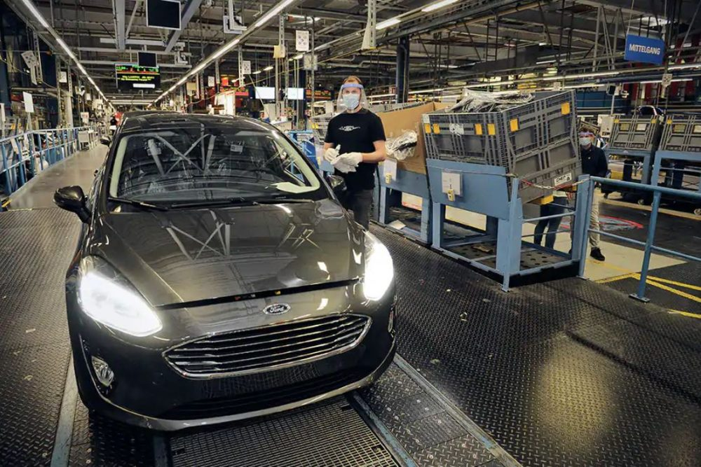 Ford of Europe Production Lines Restart May 4