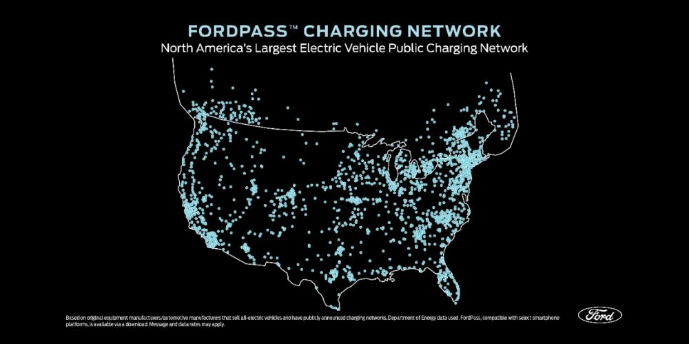 FordPass Charging Network North America May 2020 | Mustang Mach-E Charges faster