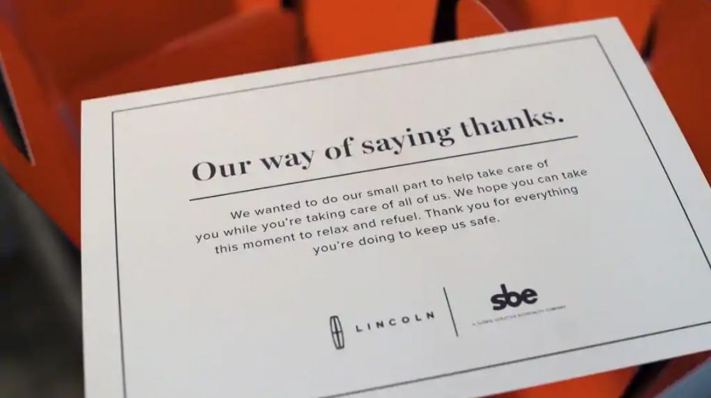 Lincoln Our Way of Saying Thanks | notes from Matthew McConaughey and Serena Williams