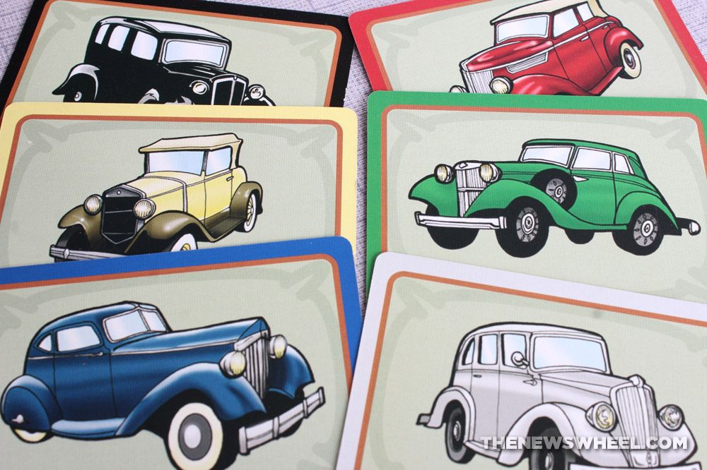 Little Italy review Reiner Knizia Playroom 2007 Italian mobster racing board game funny family cards cars vehicles