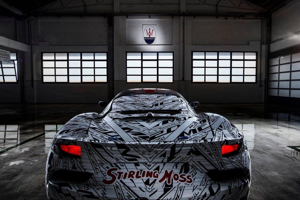 Maserati Eldorado tribute prototype