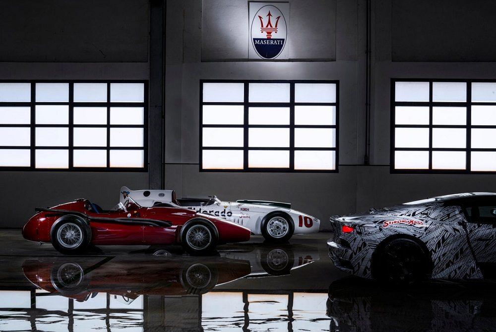 Maserati Eldorado tribute prototype teaser