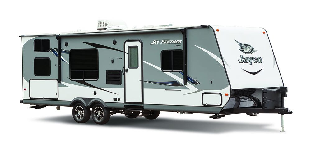 2016 Jayco Jay Feather, without an RV length label